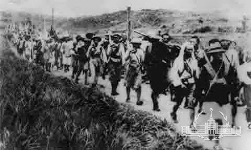 """中国工农红军取得第二次反""""围剿""""胜利"""