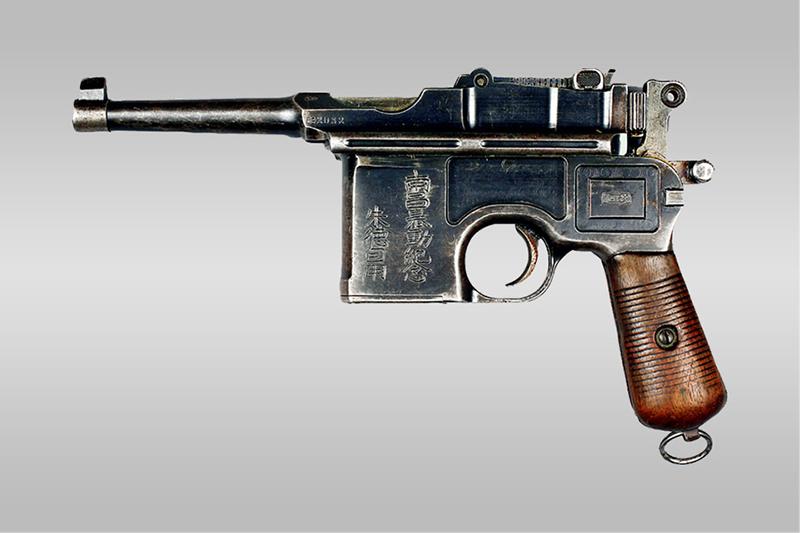 朱德在南昌起义时使用的警用手枪